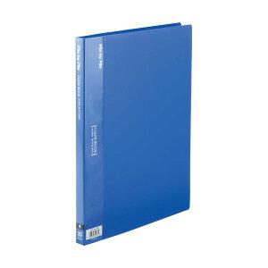 (まとめ) ビュートン クリヤーブック(クリアブック) A4タテ 20ポケット 背幅17mm ブルー BCB-A4-20B 1セット(10冊) 【×5セット】