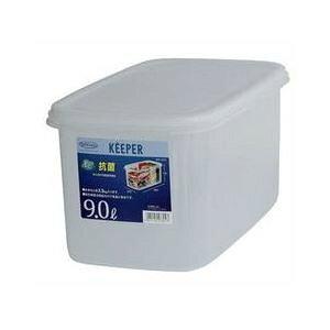 (まとめ) 保存容器/ジャンボケース 【スリムS】 抗菌効果 キッチン用品 『キーパー』 【×12個セット】
