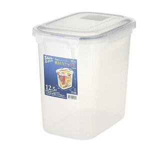 (まとめ) 保存容器/ロック式ジャンボケース 【12.5L】 銀イオン(AG+)配合 抗菌仕様 日本製 キッチン用品 【×12個セット】