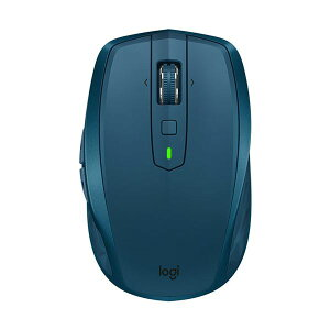(まとめ)ロジクール MX Anywhere 2Sワイヤレス モバイルマウス ミッドナイト ティール MX1600sMT 1個【×3セット】