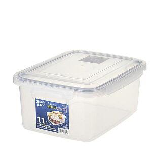 (まとめ) 保存容器/ロック式ジャンボケース 【11L】 銀イオン(AG+)配合 抗菌仕様 日本製 キッチン用品 【×16個セット】