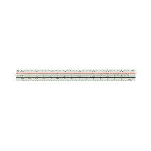(まとめ)ライオン事務器 三角スケール 土地家屋用150mm No.503 1個【×5セット】