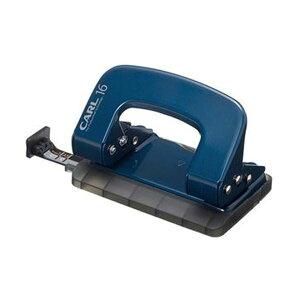 (まとめ)カール事務器 2穴パンチ ALISYS16枚穿孔 ブルー LP-16-B 1台【×20セット】