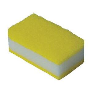 (まとめ)TRUSCO 抗菌ソフトスポンジ イエロー KSS-Y-10 1袋(10個)【×10セット】