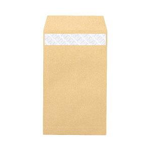 (まとめ) ピース R40再生紙クラフト封筒 テープのり付 角8 85g/m2 業務用パック 610 1箱(1000枚) 【×5セット】