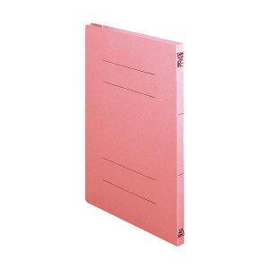 (まとめ)ライオン事務器 2サイズフラットファイルA4タテ 150枚収容 背幅18mm ピンク A-216K 1冊 【×30セット】