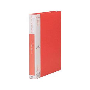 (まとめ) テージー マイホルダーファイン A4タテ型 60ポケット 赤 【×3セット】