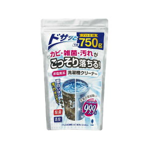 (まとめ) 非塩素系 洗濯槽クリーナー 750g 【×15セット】