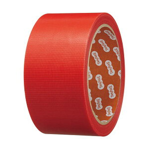 TANOSEE カラー養生テープ 50mm×25m 赤 1セット(150巻)