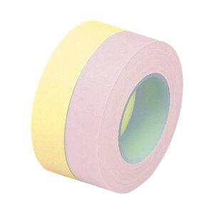 (まとめ)3M ポスト・イット 全面粘着ロール詰替用 12mm幅 イエロー・ピンク PTR-R12YP 1パック(2巻) 【×30セット】