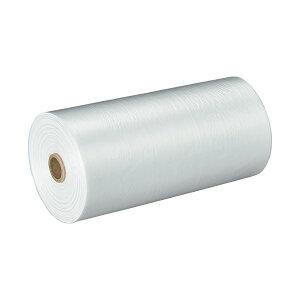 TANOSEE ロールタイプ規格袋 半透明 13号 ヨコ260×タテ380×厚み0.005mm 1セット(18000枚:3000枚×6本)