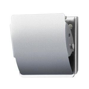 (まとめ)プラス マグネットクリップ CP-040MCR M シルバー【×10セット】