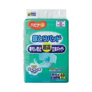 ピジョン ハビナース 尿とりパッド横モレ防止超高立体ギャザー 男性用 1セット(288枚:48枚×6パック)