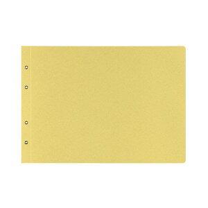 (まとめ)コクヨ 綴込表紙C クラフトタイプB4ヨコ 4穴 ツ-53 1セット(10組20枚:1組2枚×10パック) 【×5セット】