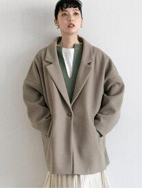 [Rakuten Fashion]TRユルジャケット LOWRYS FARM ローリーズファーム コート/ジャケット テーラードジャケット グリーン グレー ホワイト ブラウン ブラック ベージュ【送料無料】