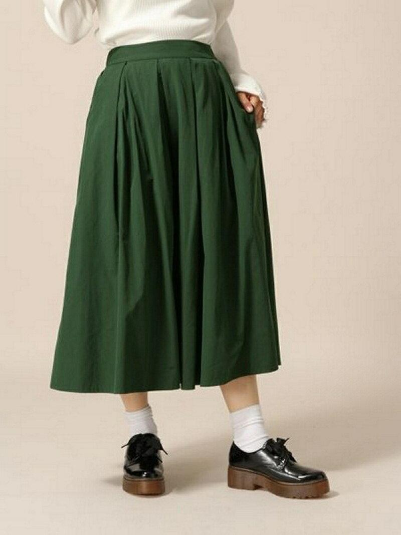 【SALE/61%OFF】LOWRYS FARM TCタックミディスカート ローリーズファーム スカート【RBA_S】【RBA_E】