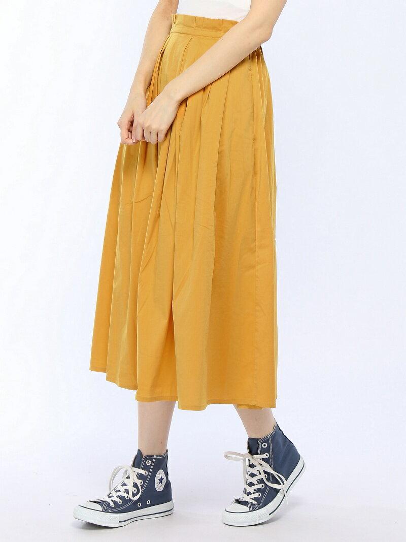 [Rakuten BRAND AVENUE]【SALE/40%OFF】ランダムタックカラースカート LOWRYS FARM ローリーズファーム スカート【RBA_S】【RBA_E】