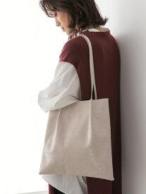[Rakuten Fashion]FLトートBAG LOWRYS FARM ローリーズファーム バッグ トートバッグ ホワイト ブラウン ブラック