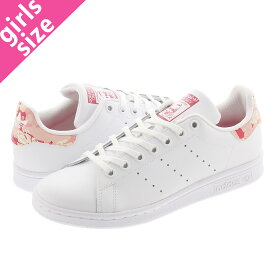 adidas STAN SMITH J アディダス スタンスミス J FTWR WHITE/FTWR WHITE/POWER PINK fv7405
