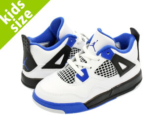 1df323d3eaac5 ... NIKE AIR JORDAN 4 RETRO TD Nike Air Jordan 4 nostalgic TD WHITEGAME  ROYALBLACK ...