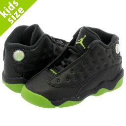 NIKE AIR JORDAN 13 RETRO BT耐吉空氣喬丹13重新流行BT BLACK/ALTITUDE GREEN