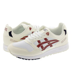 ASICS Tiger GEL SAGA アシックス ゲル サーガ WHITE/BRISKET RED 1191a233-100