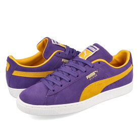 PUMA SUEDE TEAMS 【LOS ANGELES LAKERS】 プーマ スウェード チームス PRISM VIOLET/SPECTRA YELLOW 380168-03