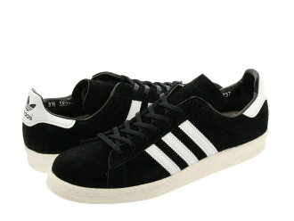adidas CAMPUS 80S JAPAN PACK VNTG Adidas campus 80S Japan pack vintage BLACK/WHITE