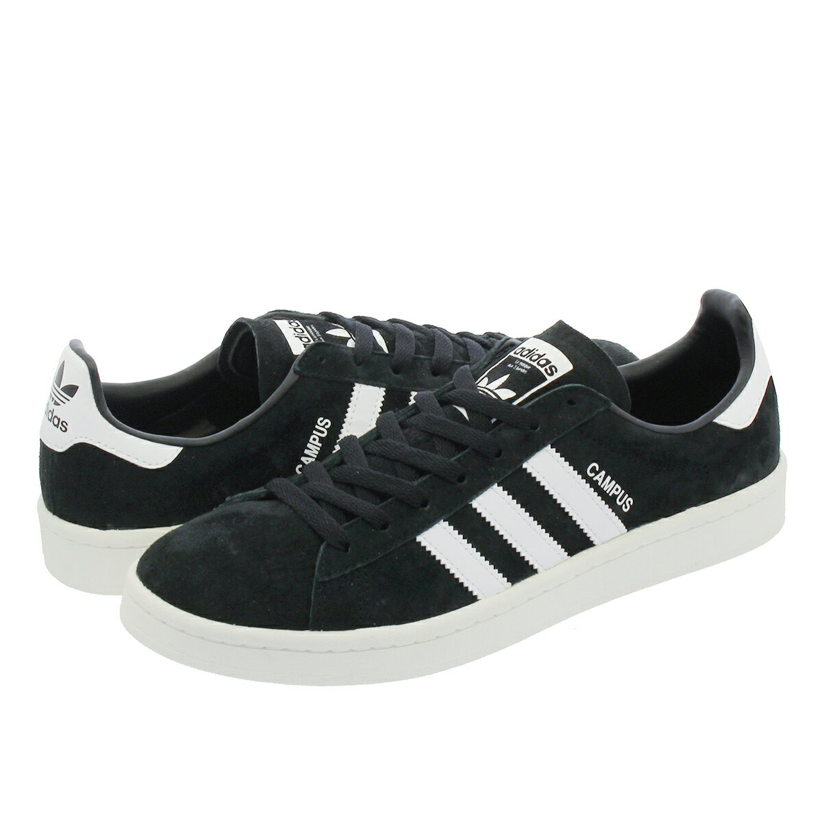 adidas CAMPUS 【adidas Originals】 アディダス キャンパス CORE BLACK/RUNNING WHITE/CHALK WHITE