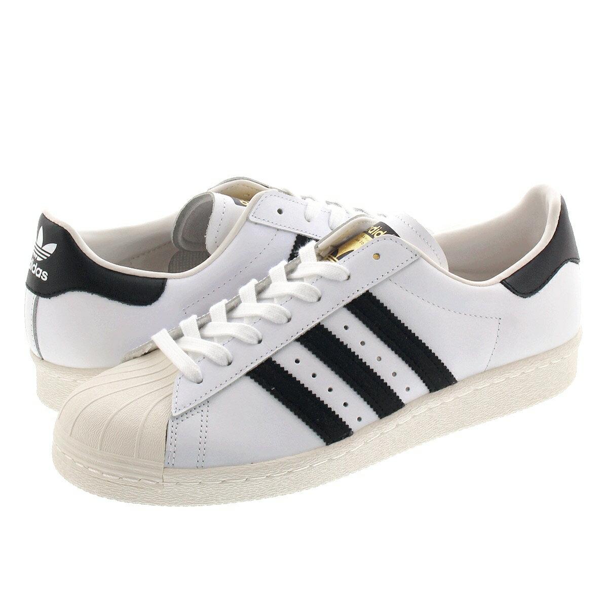 adidas originals SUPER STAR 80s 【メンズ】【レディース】アディダス オリジナルス スーパースター 80s WHITE/BLACK