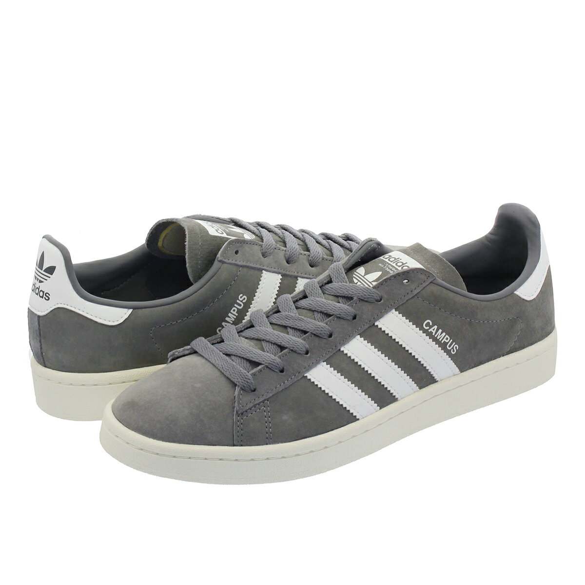 adidas CAMPUS 【adidas Originals】 アディダス キャンパス GREY/RUNNING WHITE/CHALK WHITE