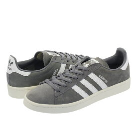 adidas CAMPUS アディダス キャンパス GREY/RUNNING WHITE/CHALK WHITE bz0085