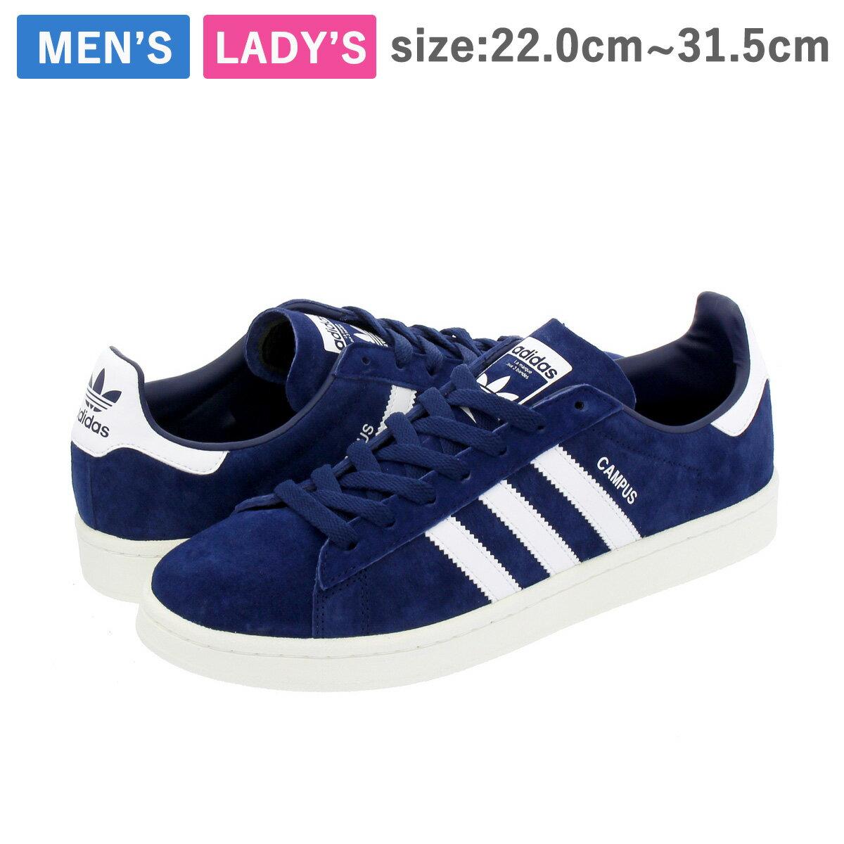 adidas CAMPUS 【adidas Originals】 アディダス キャンパス DARK BLUE/RUNNING WHITE/CHALK WHITE
