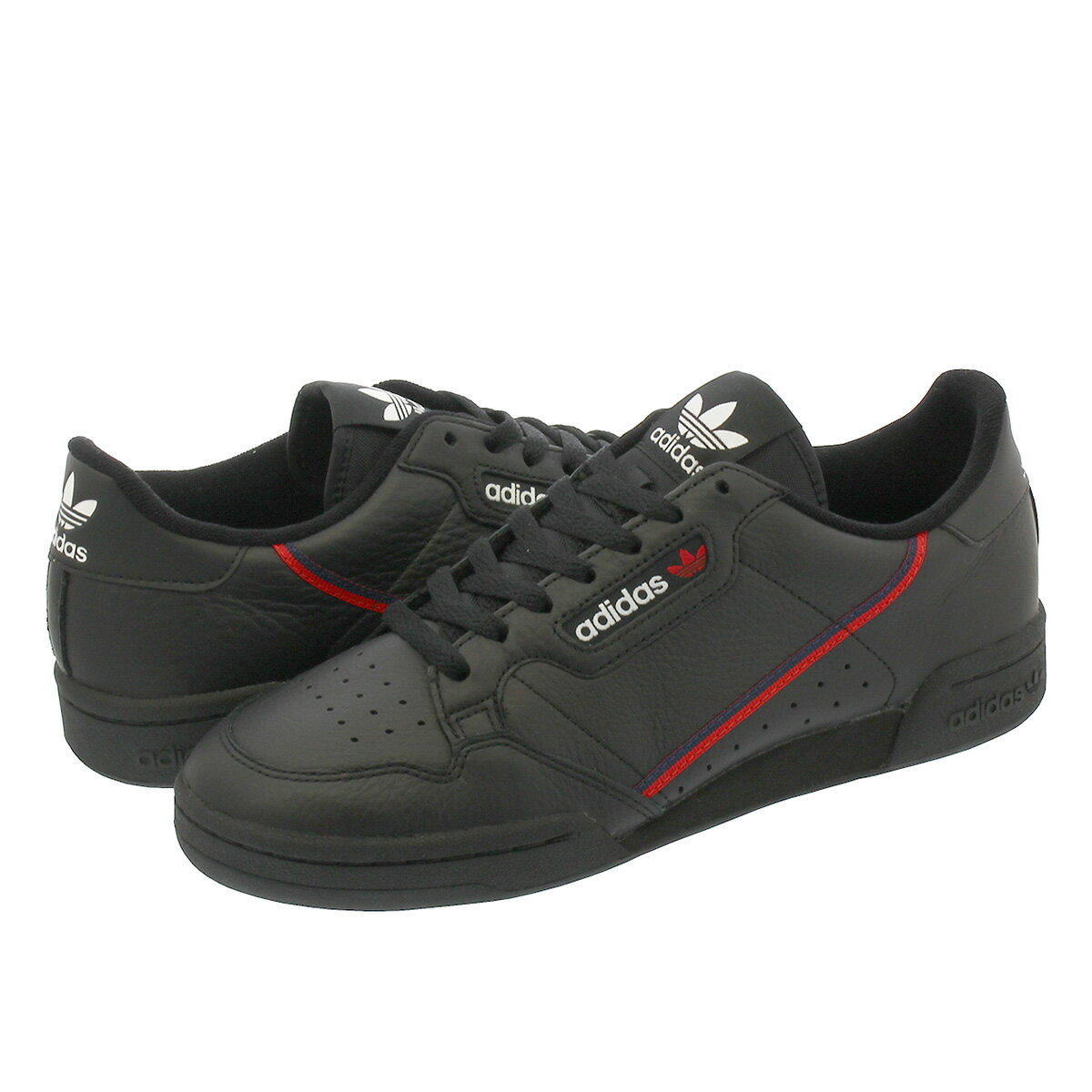 adidas CONTINENTAL 80 【adidas Originals】 アディダス コンチネンタル 80 CORE BLACK/SCARLET/COLLEGIATE NAVY b41672