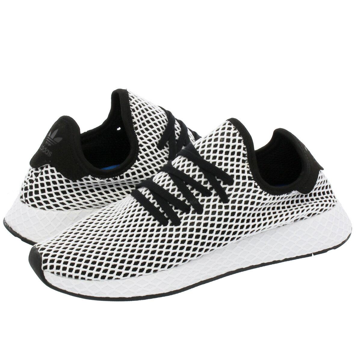 【半期に一度の決算セール】 adidas DEERUPT RUNNER アディダス ディーラプト ランナー CORE BLACK/CORE BLACK/RUNNING WHITE