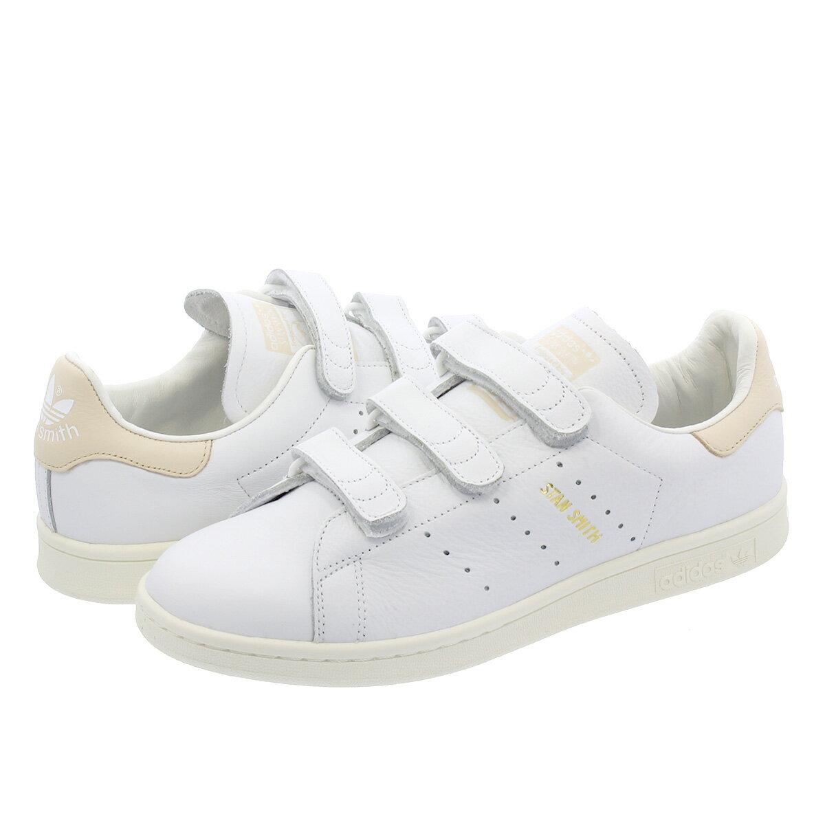 【お買い物マラソンSALE】 adidas STAN SMITH CF 【adidas Originals】 アディダス スタンスミス CF RUNNING WHITE/RUNNING WHITE/LINEN f36573