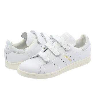 adidas STAN SMITH CF愛迪達Stan Smith CF RUNNING WHITE/RUNNING WHITE/BLUE TINT f36574