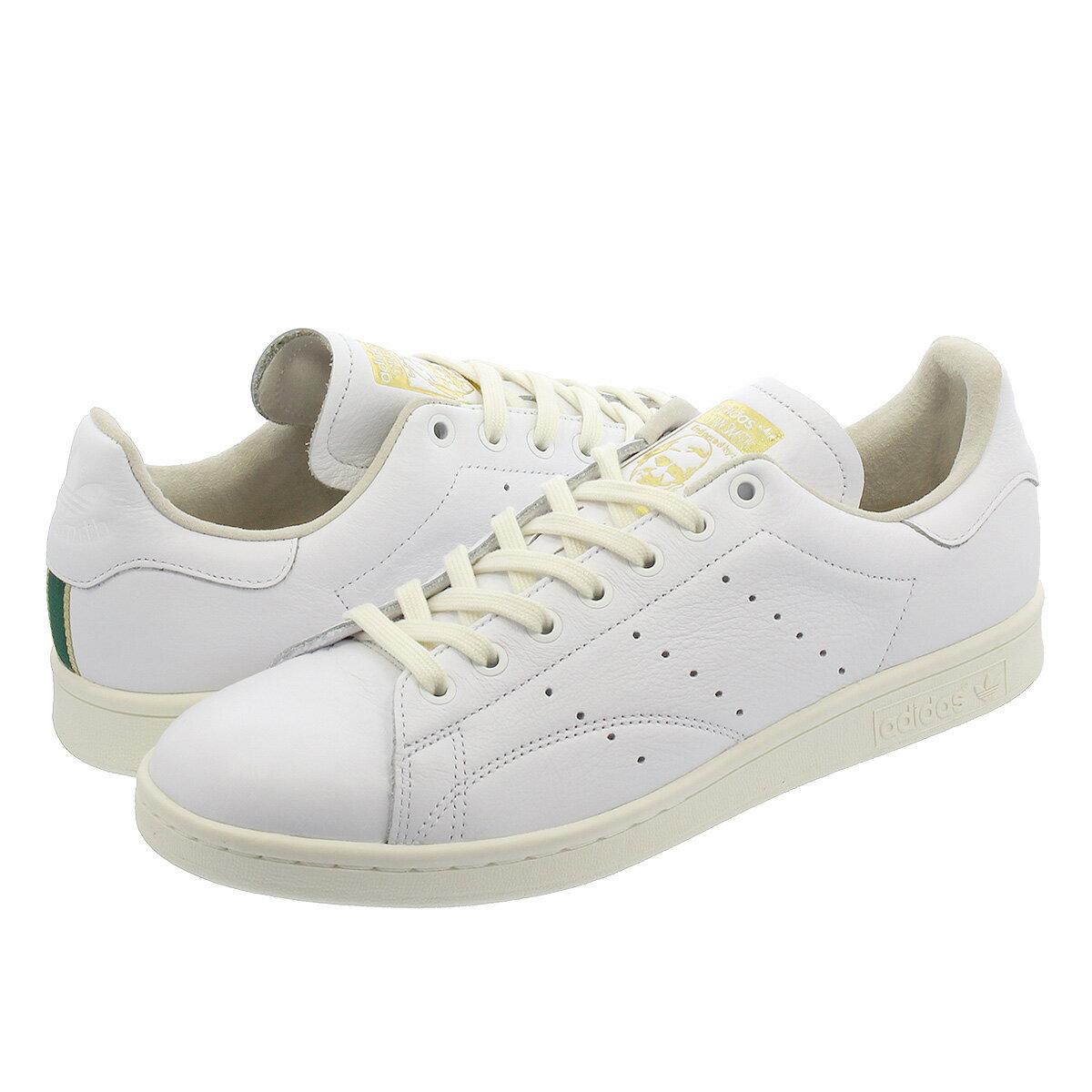 adidas STAN SMITH 【adidas Originals】【メンズ】【レディース】 アディダス スタンスミス RUNNING WHITE/OFF WHITE/COLLEGIATE GREEN db3527