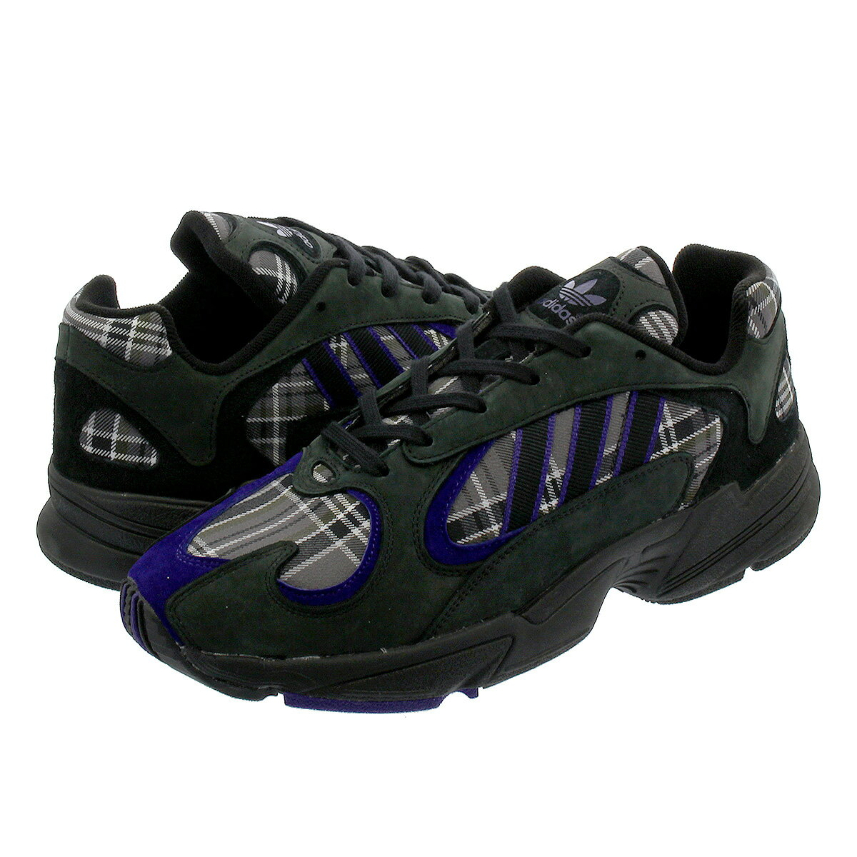 【毎日がお得!値下げプライス】 adidas YUNG-1 【adidas Originals】 アディダス ヤング 1 CORE BLACK/COLLEGE PURPLE/CORE BLACK ef3965