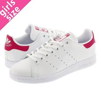 sale retailer 67b6e 5008f adidas STAN SMITH J Adidas Stan Smith J WHITE/PINK b32703