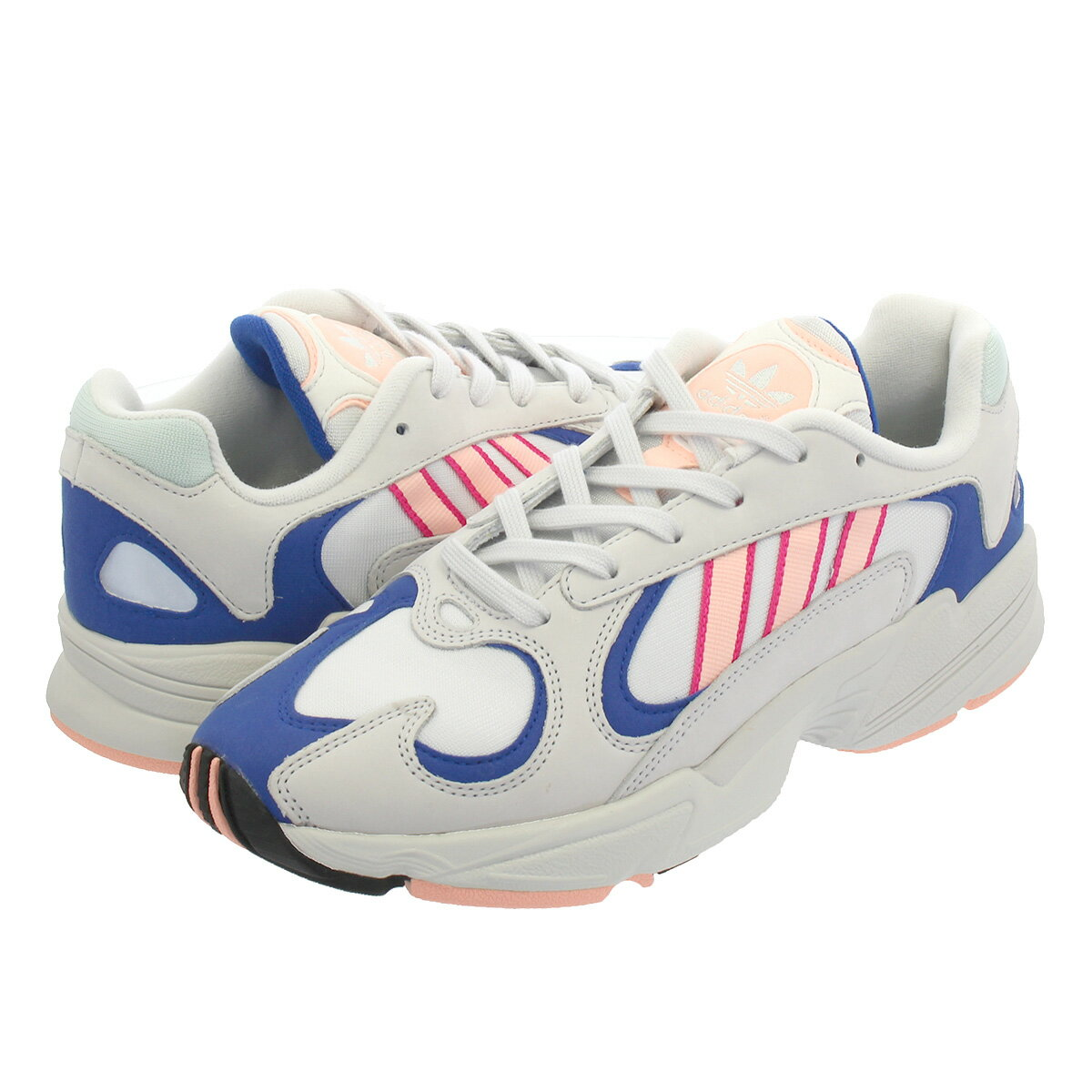 adidas YUNG-1 CRYSTAL 【adidas Originals】 アディダス ヤング 1 WHITE/CLEAR ORANGE/COLLEGE ROYAL bd7654