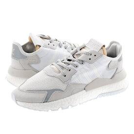 【毎日がお得!値下げプライス】 adidas NITE JOGGER アディダス ナイト ジョガー CRYSTAL WHITE/CRYSTAL WHITE/RUNNING WHITE ee5855