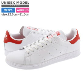 adidas STAN SMITH アディダス スタンスミス WHITE/FTWR WHITE/LUSH RED ef4334