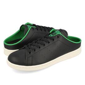 【毎日がお得!値下げプライス】adidas STAN SMITH MULE アディダス スタンスミス ミュール CORE BLACK/GREEN/WHITE fx5858