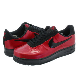 NIKE AIR FORCE 1 FOAMPOSITE PRO CUP Nike air force 1 フォームポジットプロカップ GYM RED/BLACK aj3664-601