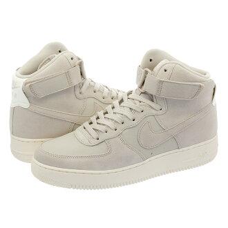 NIKE AIR FORCE 1 HIGH 07 SUEDE Nike air force 1 high 07 suede BEIGE/CREAM WHITE/WHITE aq8649-001