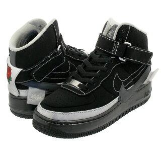 super popular 13548 d0608 NIKE WMNS AIR FORCE 1 JESTER HIGH XX Nike women air force 1 Jester high XX  BLACK/METALLIC SILVER/BLACK bv1575-001
