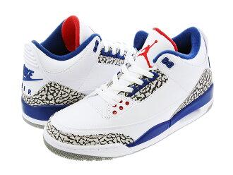 b904fa5e224b NIKE AIR JORDAN 3 RETRO OG Nike Air Jordan 3 nostalgic OG WHITE FIRE RED TRUE  BLUE CEMENT GREY