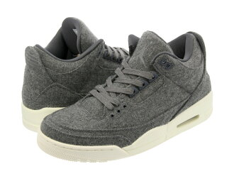 775316d7e6c0 NIKE AIR JORDAN 3 RETRO WOOL Nike Air Jordan 3 nostalgic wool DARK  GREY DARK GREY SAIL