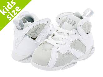 reputable site 516ca 59d39 NIKE AIR JORDAN 7 RETRO BT Nike Air Jordan 7 nostalgic BT WHITE/METALLIC  SILVER/PURE PLATINUM 304,772-120